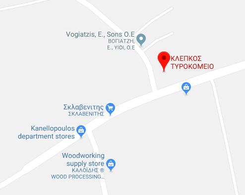 Klepkos Map